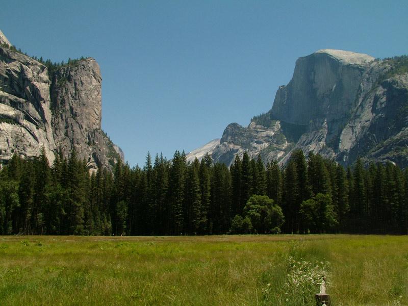 Yosemite Valley El Capitan Half Dome