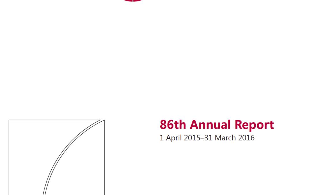 86th Annual BIS Report
