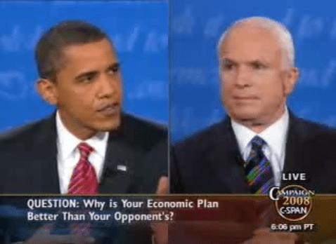 US Presidential Debates 2008
