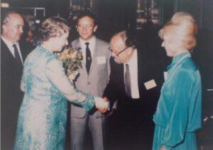 Toby Rodes meets with Queen Elizabeth