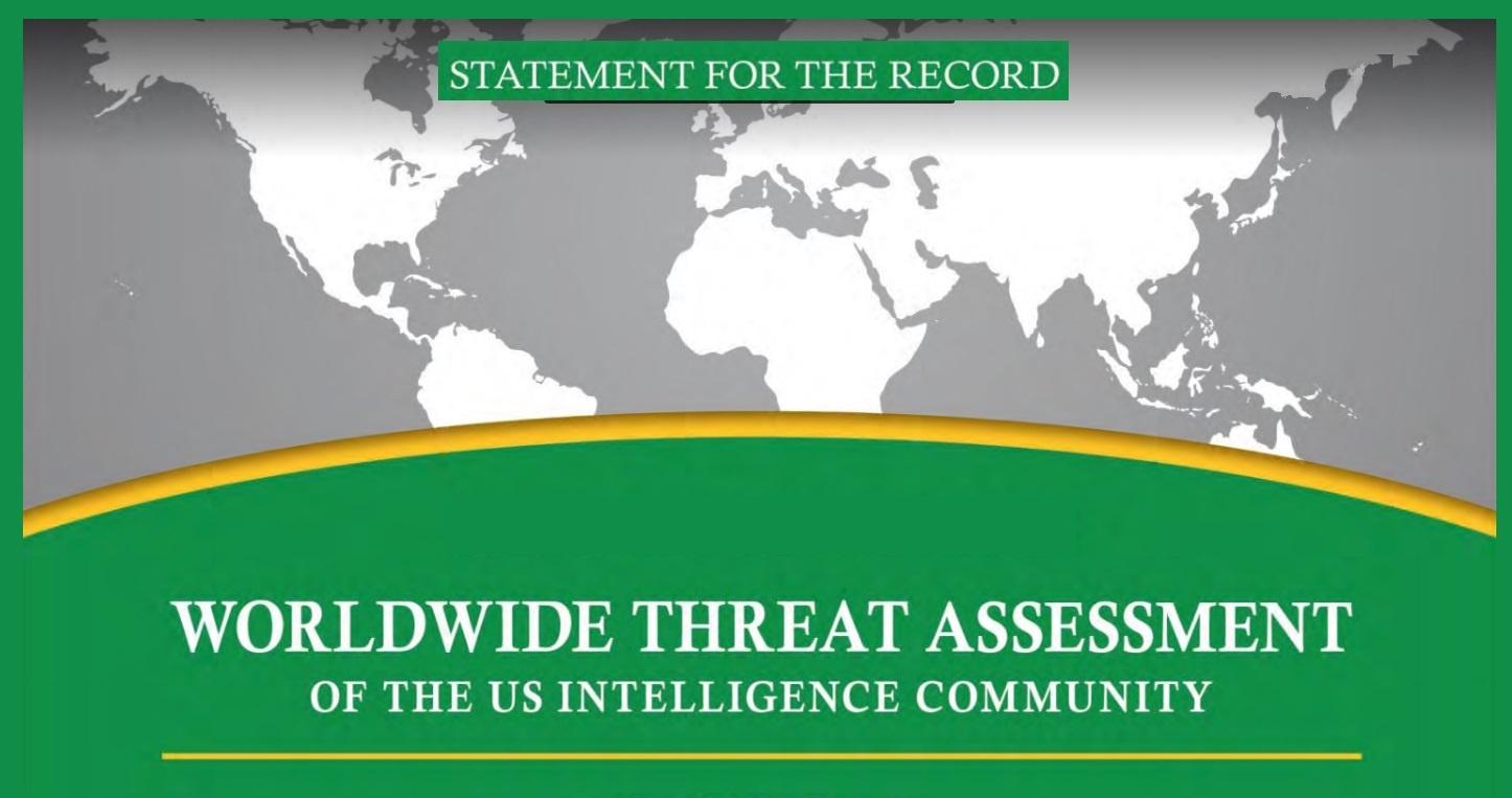 Worldwide Threat Assessment
