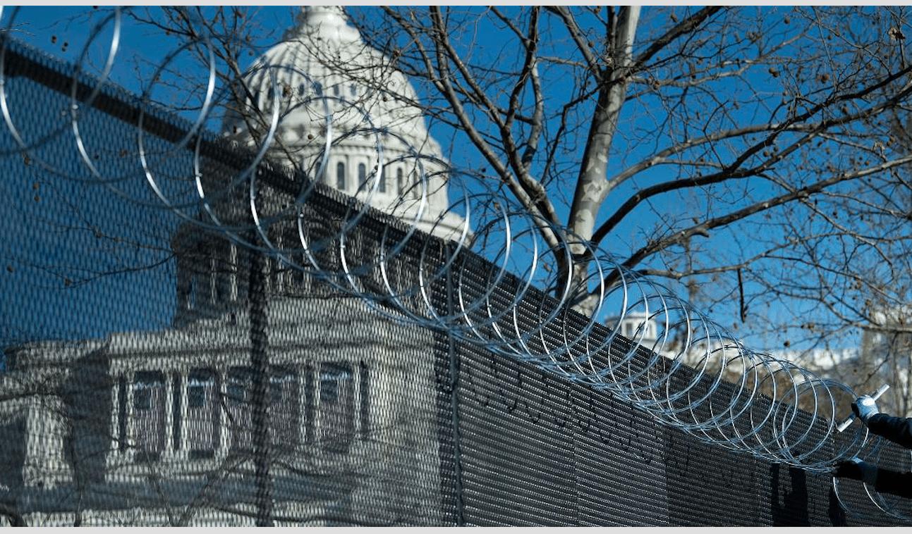 US Capital Post Trumps Insurrection