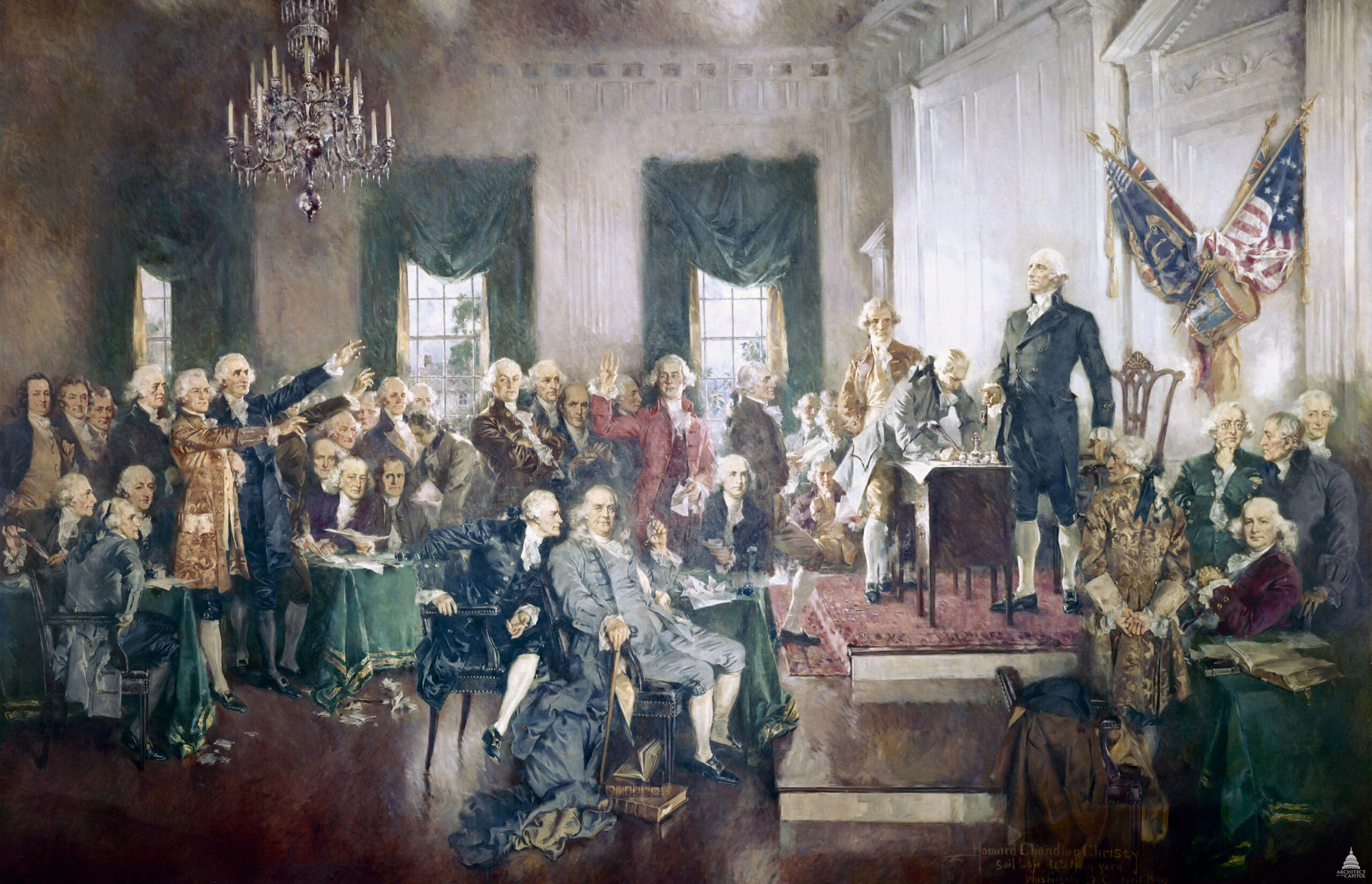 Establishing The Constitution of the United States of America