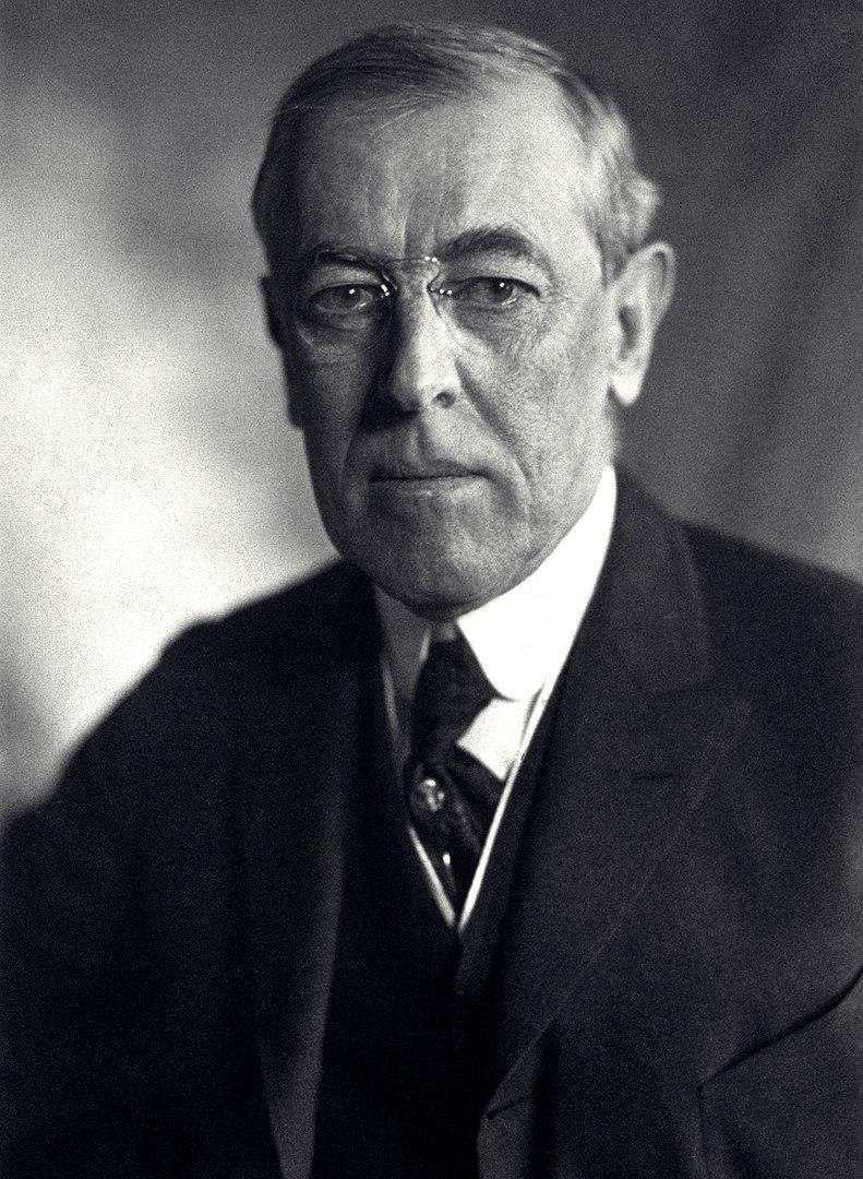 President Thomas Woodrow Wilson